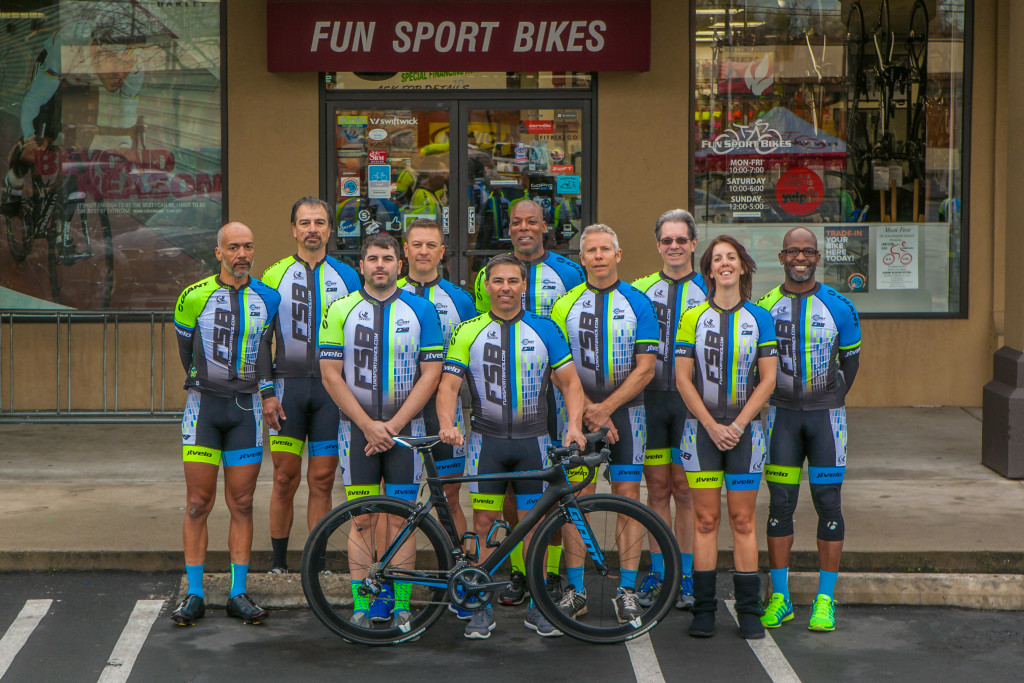 2016 Funsport Bikes Cycling Team Supported Racers